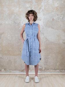 Kleid Kavita Taubenblau - Jyoti - Fair Works