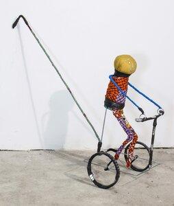 Pagne Fahrrad-Figur - Africa Design