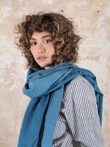 Schal Somila Blau - Jyoti - Fair Works