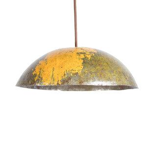 Ölfass Deckenlampe Gelb - Africa Design