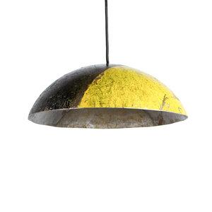 Ölfass Deckenlampe schwarz gelb - Africa Design