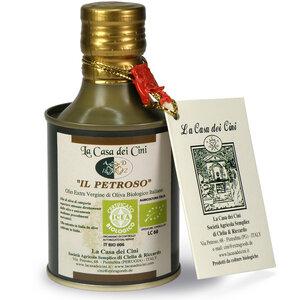 ExtraGourmet Il Petroso -Italienisches, Biologisches Olivenöl Extra Vergine 0,25l - extraGourmet