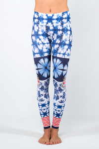 Damen Yoga Leggings By The Sea - Magadi