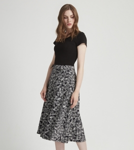 Lulu Skirt Black - People Tree