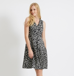 Belva Dress Black - People Tree