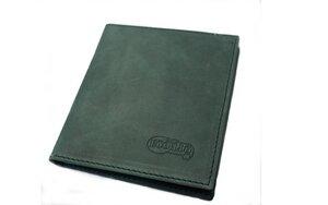 Premium Leder Scheckkartenetui Naturleder in grün Unisex - Ecollo