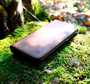 Ecollo - Handy Hülle Echt Natur Leder zertifiziert für I-Phone 6 PLUS/6S PLUS - Ecollo