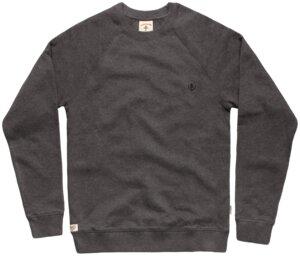 Bidges&Sons 'Tanker Basic' Gents  Sweater , dark heather grey - Bidges&Sons