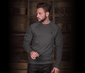 "Bidges&Sons ""Tanker Basic"" Gents  Sweater , dark heather grey - Bidges&Sons"