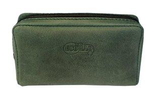 Premium Leder Schlüsselmäppchen Etui Naturleder in grün Unisex - Ecollo