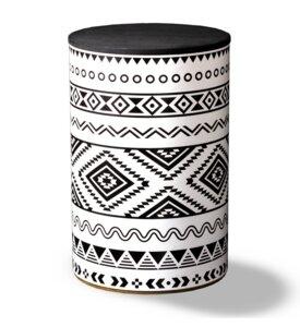 Hocker Aztec - rund:Stil