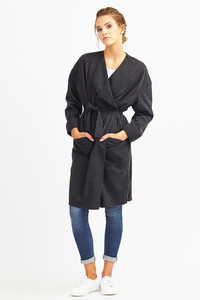 Coat Tallulah - Black - LangerChen
