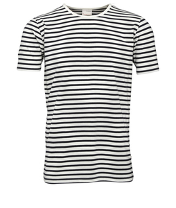 Single Jersey Yarndyed Striped T-Shirt - KnowledgeCotton Apparel