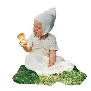 Engel Bio Baumwolle Baby Body kurz-Arm - Engel natur