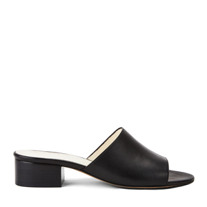 Mule Slides #maia black - NINE TO FIVE