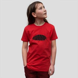 Kinder T-Shirt Greta Assel in rot - Cmig