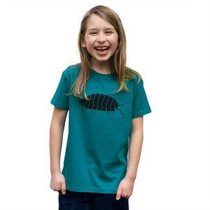 Kinder T-Shirt Greta Assel in ocean depth - Cmig