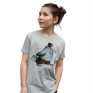 Kinder T-Shirt Blaubeer Stig in hellgrau - Cmig