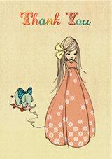 Belle & Boo Gruss-Minikarten-Set  - 1973