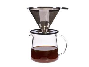 Neu: Kaffeebereiter POUR OVER FOR TWO 0,5 l  - Trendglas Jena