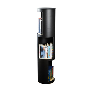 RUNDA 3 Regalturm schwarz | rund:Stil - rund:Stil
