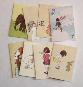 Belle & Boo Grusskarten - 1973