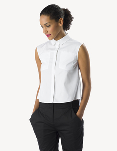 Chiara Shirt/ 0001 Bio-Baumwolle/ Minimal - Re-Bello