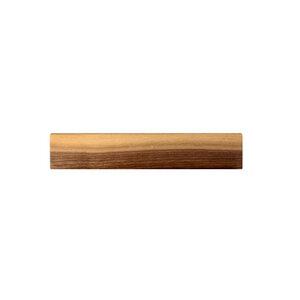 Magnet-Messerleiste Holz Schlüsselbrett Nussbaumholz 250 - 550 mm - NATUREHOME