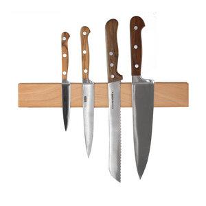 Magnet-Messerleiste Holz Schlüsselbrett Buchenholz 250 - 550 mm - NATUREHOME