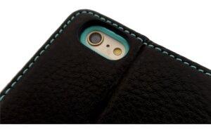 Handy Hülle Echt Natur Leder zertifiziert für I - Phone 6 PLUS - Ecollo