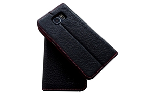 Handy Hülle Echt Natur Leder zertifiziert für Galaxy S6 - Ecollo