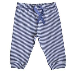 Baby Hose blau/geringelt Bio Baumwolle - People Wear Organic