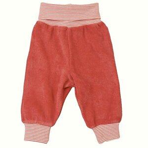 Baby Frottee Hose koralle Bio Baumwolle - People Wear Organic
