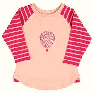 Mädchen Raglanshirt rosa Bio Baumwolle - People Wear Organic