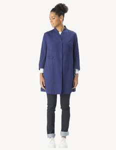 Nikki Coat 2 / 0027 Bio-Baumwolle / Minimal - Re-Bello