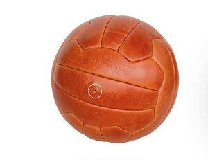 Historischer Original-WM-Fußball Torelli 54 - Sonnenleder