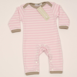 Baby-Strampler in Rosa - Organics for Kids