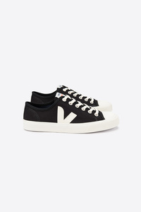 Sneaker Damen - Wata Canvas - Black White - Veja