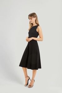 Rebecca Dress - Black  - People Tree
