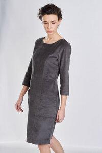 Alexa Grey Cord Dress - bibico