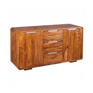 RELAXFAIR Sideboard Design 3 Schubladen 2 Türen FSC-zertifiziert - RELAXFAIR
