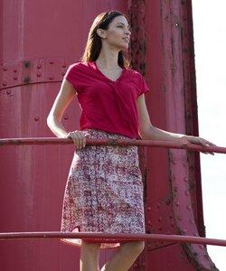 Kelim Skirt Redwood - Alma & Lovis