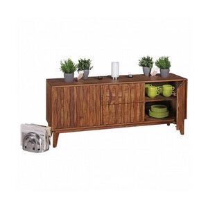 RELAXFAIR Sideboard Design/ 2 Schubladen 2 Türen/ TV FSC-zertifiziert - RELAXFAIR