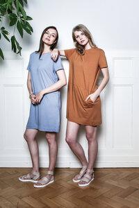 MIYUKI Overzied Dress - Infinity - Frieda Sand