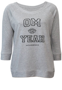 Sweatshirt OM YEAH - Natural Born Yogi