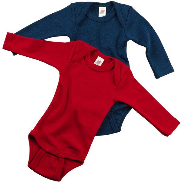 9a97530ffa3018 Engel natur - Body langarm Engel Bio Wolle Seide Baby Body ...