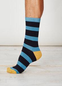 Nelson Socks - Dusty Blue - Thought | Braintree