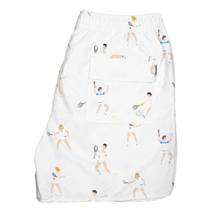 Swim Shorts Tennis People - DEDICATED