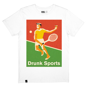 Drunk Sports T-Shirt - DEDICATED
