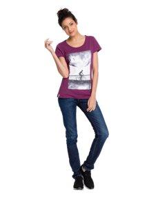 T-Shirt Moonride berry - recolution